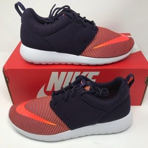 Nike Shoes - 🆕 Nike Roshe One FB Running Shoes - Purple/Citrus